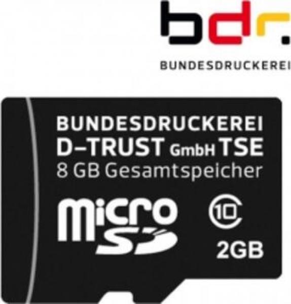 TSE MicroSD von D-Trust